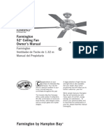 Manual Hampton Bay Ceiling Fan