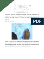 Centrifugal Compressor Part III Lec23