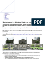Panorama Stitching | Computer Architecture | Digital