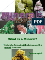 Geografia PPT - English - Minerals 01