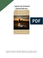 Daniela Marconi - Después de Amanecer