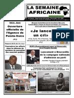 semaine africaine n°3695 mardi 30 Mai 2017