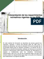 Interpretacion de Los Requerimientos Normativos Vigentes en Las BPM