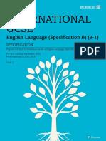 International GCSE English Language B (9-1) Specification