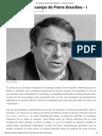 El Concepto de Campo de Pierre Bourdieu - I - Música y Sociedad
