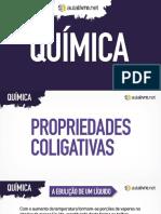 Quimica - Aula 07 - Apresentacao-propriedades-coligativas