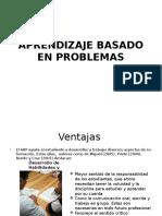Aprendizaje Basado en Problemas (2)