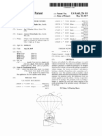 Amazon's patent for drone parachute delivery