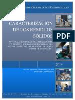 Caracterización de Los Residuos 2014