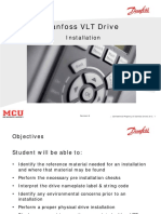 VLT HVAC Drive Installation