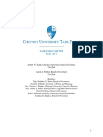 Cheyney University Task Force Report