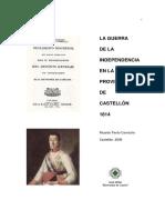 La GDI en La Provincia de Castellon