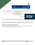 ERP-Procedimiento Para Instalar Actualizacion Sistemas ERP Desde DVD