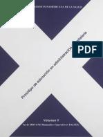 Serie HSP Vol v - Manual Prototipo de Educación en Administración Hospitalaria (5), 14