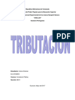 Informe de Tributacion