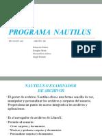 Programa Nautilus(1)