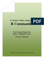 the Rcmdr Guide