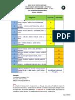 Calendario Exposiciones y Laboratorios VUS-S0800