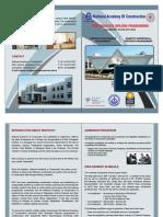 NAC Post Graduate Diploma Brochure