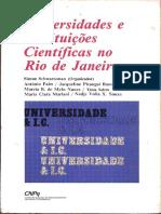 Instituições Científicas No Rio de Janeiro