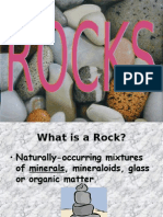 Geografia PPT - English - Minerals Rocks