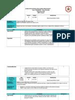 Plan anual 1° A, C y D
