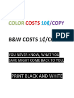 Color Costs 10 5-31-17