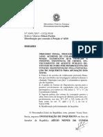 INSTAURAÇÃO DE INQUÉRITO em face do Senador da República AÉCIO NEVES DA CUNHA
