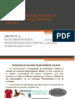 Diapositivas de Valores