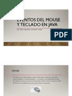 Eventos Mouse y Teclado