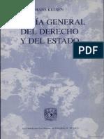 teoria general del derecho y del estado kelsen