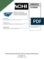 Hitachi AV3000E_TUNER BOX Plasma TV Service Manual.pdf