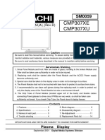 Hitachi CMP307XE Plasma TV Service Manual.pdf