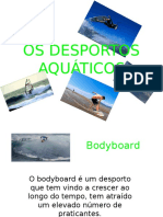2991106 Power Point Os Desportos Aquaticos e o Meio Ambiente