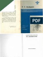 p y Deshpande English