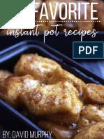 Free Instant Pot Pressure Cooker Cookbook