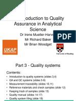 Quality Assurance Part 3