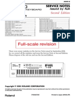 Roland Juno D (Service Manual)