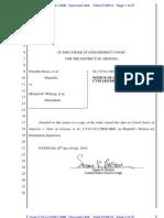 FRIENDLY HOUSE, et al. v WHITING, et al. (AZ Immigration) - 424 - NOTICE OF ORDER - azd-02506097731