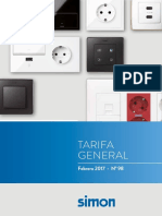 Simon Tarifa General 98 Precios 2017