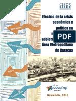 Efectos de La Crisis Economica y Politica en NNA Informe