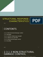 Structural Response Characteristics