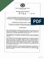 Resolucion 154 de 2014