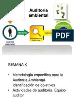Auditoria Ambiental 2016-II Semana X