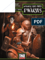 Advanced Race Codex