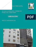 EDIFICIO USO DE HOTEL A 1 CUADRA DE REFORMA. NIZA E INSRGTS.