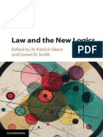 H. Patrick Glenn, Lionel D. Smith (Eds.)-Law and the New Logics-Cambridge University Press (2017)
