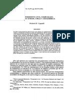 CAPPALLI, Richard B., Procedimiento Civil Comparado Estados Unidos, Chile y Sudamérica, 1992.pdf