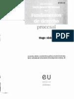 ALSINA, Hugo, Fundamentos de Derecho Procesal, Pp. 49-74