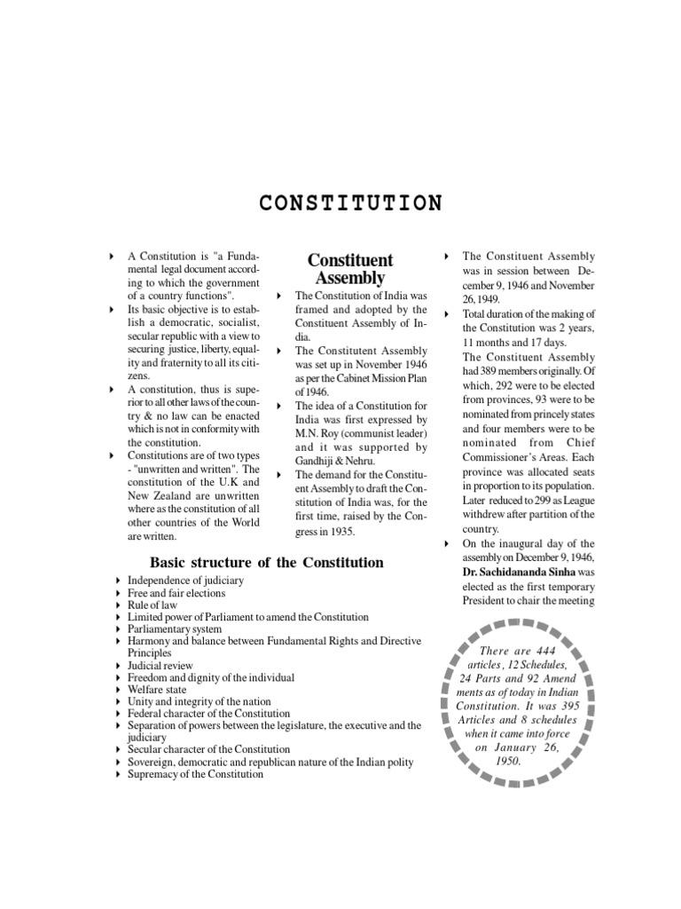 Indian Constitution Part 1 British Raj Constitution